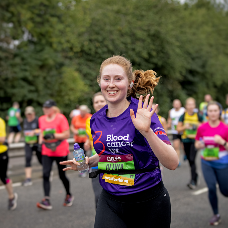Great North Run for Blood Cancer UK