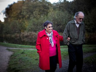 Louise, in remission from blood cancer, spends time with her husband .jpg