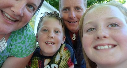 Melody and family, who are shielding following their son's blood cancer treatment.jpg