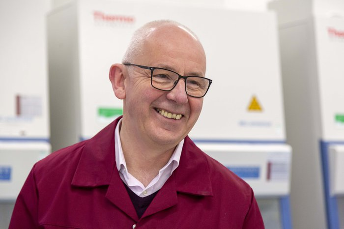 A happy researcher