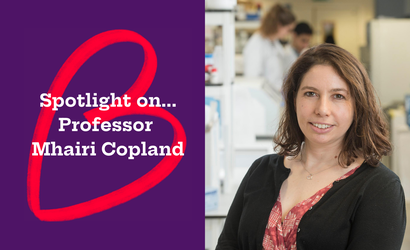 Spotlight on... Professor Mhairi Copland