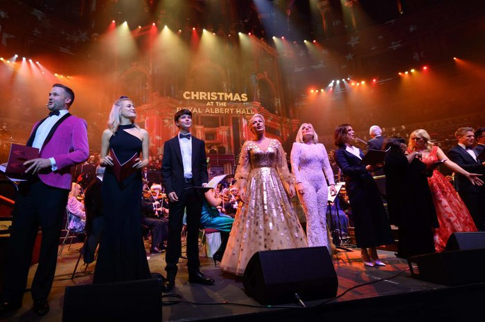 Christmas with the stars at the Royal Albert Hall - the finale