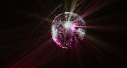 Disco ball by Hayley Lawrence
